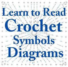 Learn to do crochet from Crochet Symbols Diagrams by JECKK