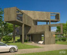 Мини-отель: архитектура, 4 эт | 12м, минимализм, гостиница, мотель, 200 - 300 м2, фасад - ж/б, здание, строение #architecture #4fl_12m #minimalism #hotel #motel #200_300m2 #facade_ironconcrete #highrisebuilding #structure arXip.com