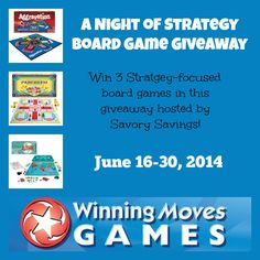 Winning Moves Giveaway! Ends 06/30 - Tales From A Southern Mom
