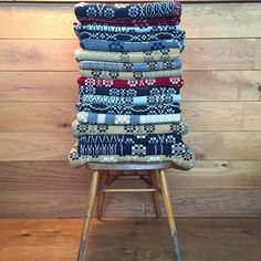 nice stack of fforest blankets
