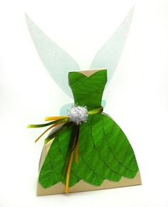 PDF Tinkerbell Fairy Dress Printable Box by marlicg on Etsy, $3.99