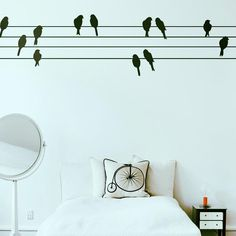 Powerbirds Wall Decal.