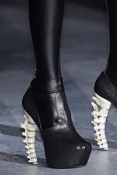Dsquared2 spine heels.
