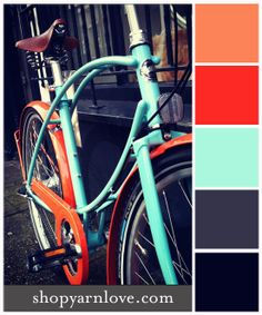Retro Bike color palette