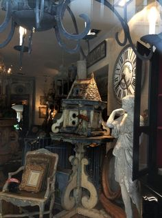 Beautiful French finds....  FleaingFrance Paris 6-9