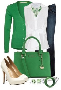 Perfect summer green cardigan for work