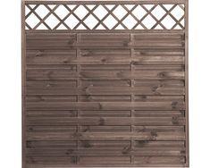 Élément de clôture Molina 180x180cm brun châtaigne - Acheter en ligne chez HORNBACH Suisse! Droit de retour de 30 jours, aussi possible au magasin! 30 Day, Law, Store, Brown, Fishing Line