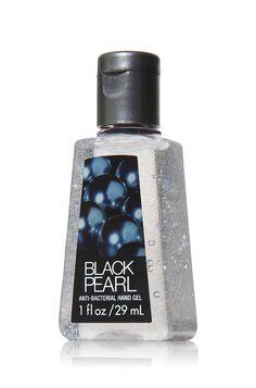 Black Pearl PocketBac Sanitizing Hand Gel - Anti-Bacterial - Bath & Body Works-- glittery sanitizer YES!
