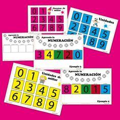 Aprender la numeración con el Juego de los números