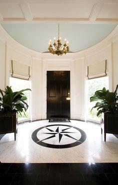 circular enty foyers | Margaux Interiors Limited - entrances/foyers - round foyer, foyer ...