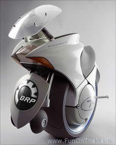One-Wheeled Motorcycle!