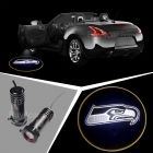 SEATTLE SEAHAWKS Car Door Welcome Led Ghost Shadow Light Projection Laser Logo #1522