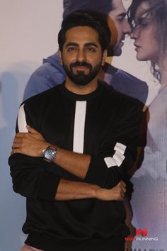 Ayushmann Khurrana at the launch of Ik Vaari song by Tseries Pictures