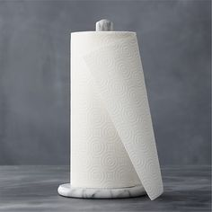 French Kitchen Marble Paper Towel Holder in Utility & Kitchen Helpers | Crate and Barrel