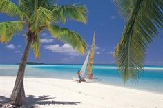 The Cook Islands A relaxed, laid-back mood seems to linger forever on each of the 15 Cook Islands. Opt for the island of Aitutaki, where a variety of go-with-the-flow lagoon cruises take off daily, and you'll experience a completely sequestered stay. www.DreamVacationsKC.Com