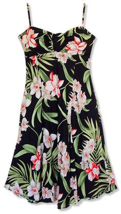 lihue goddess hawaiian dress