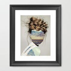 Haircut 1 Framed Art Print by Erin Case - $35.00