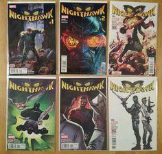 Nighthawk: Hate Makes Hate Complete (6 Comics)