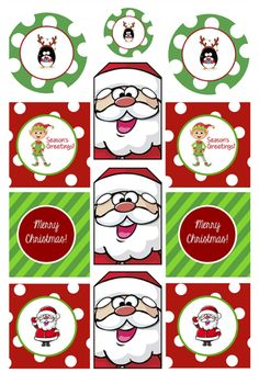 Tags-- http://crazylittleprojects.com/2014/11/freeprintablechristmasgifttags.html