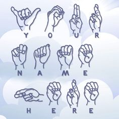 Teach American Sign Language to kids. print outs and free free stuff.