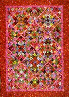 Kaffe Fasset Quilt from book Kaffe Fasset Museum Quilts.    He is one of my favorite designers.