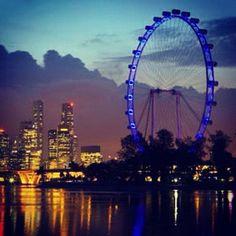 Singapore Flyer - World's tallest ferris wheel. :)