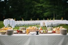 Backyard Wedding Food