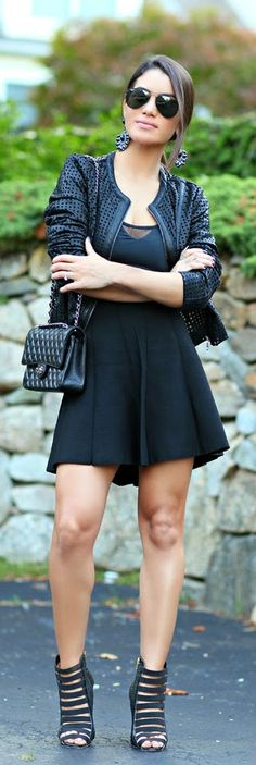 Everyday New Fashion: All Black Looks
