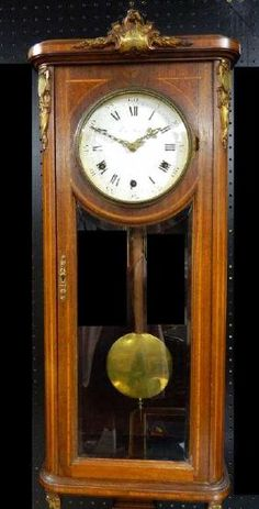 Bulova Cirrus Chiming Pendulum Wall Clock Solid Oak Case Solid