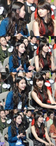 IU & Suzy