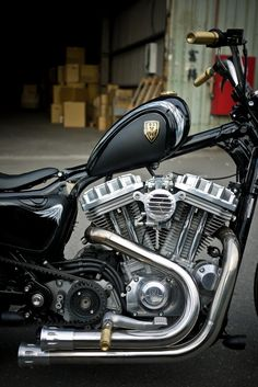 Moto Support Montage L pour Harley Davidson V-Rod//V-Rod Muscle Noir