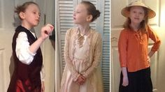 Stella Ehrhart is a third-grader who dresses up as a different historical figure each day (usually women, but not always, her Elvis Costello is adorable)