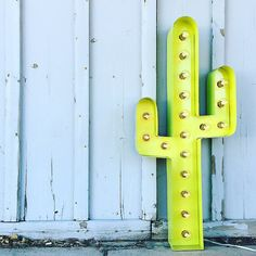 This listing is for one illuminated marquee CACTUS. Each one is handcrafted of…