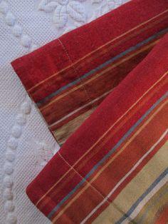 Pottery Barn Serape Shams Standard~Cotton