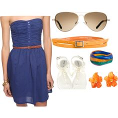 Gator Game Day, created by tori-driggers on Polyvore