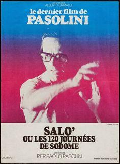 """ Salò, or The 120 Days of Sodom "" Pasolini Salo, Film Movie, Movies, Filmmaking, Snake Skin, Horror, Scene, Movie Posters, Ad Hoc"