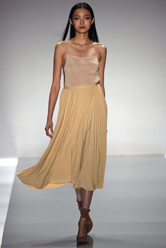 Jil Stuart. I didn't like everything but this dress made me forget the rest. <3 so swishy!