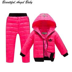 Warm Outfits, Kids Outfits, Winter Baby Boy, Kids Overalls, Boys And Girls Clothes, Down Parka, Costume, Outfit Sets, Sleeve Styles