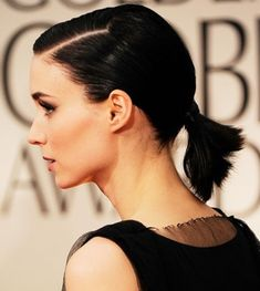 Short Ponytail Hairstyle