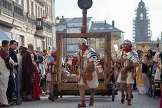 Arde Lucus 2011, cando a festa foi declarada de interese turístico de Galicia.