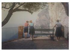 Luigi Ghirri Capri, 1980 vintage C-print x 26 cm) Landscaping Images, Italian Artist, Contemporary Photography, Conceptual Art, Photo Colour, Simple Pleasures, Color Photography, Luigi, Photo Art