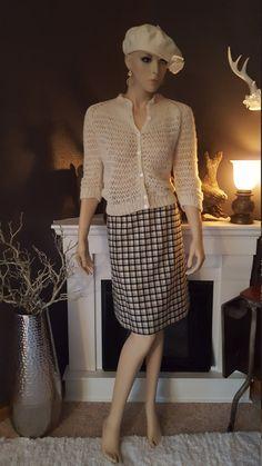 Goergous Loose Weave 1960's Sweater by EmmasGraceVintage on Etsy