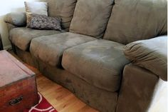 Anything your pet can dribble or excrete will probably end up on your furniture at some point. While you can machine wash cushion covers, slipcovers and throw rugs, strong smells often permeate the sofa cushions and leave a nasty lingering odor behind. You don't have to resort to harsh chemicals to remove these unpleasant scents. With a...