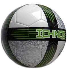 Ichnos Koru lime green game football ball official size 5