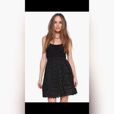 Fisher Island Pleated Skirt Black & Tan Pleated Skirt Necessary Clothing Skirts Midi