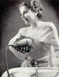 A machine for washing breasts - 1930...Would one actually put this to use...