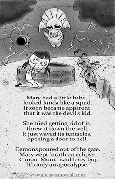 25 Adorably Disturbing Apocalyptic Nursery Rhymes