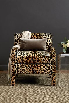 28 best leopard print chair images animal prints leopard print rh pinterest com