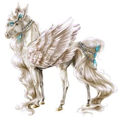 Ceres, Pegasus Thoroughbred Liver chestnut - Howrse US Unicorn Fantasy, Unicorn Horse, Unicorn Art, Fantasy Art, Pegasus, Horse Drawings, Animal Drawings, Pretty Horses, Beautiful Horses