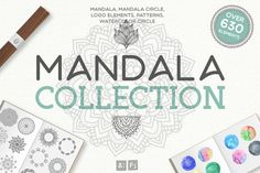 Mandala Collection [630 Elements] by Julia Dreams on @creativemarket
